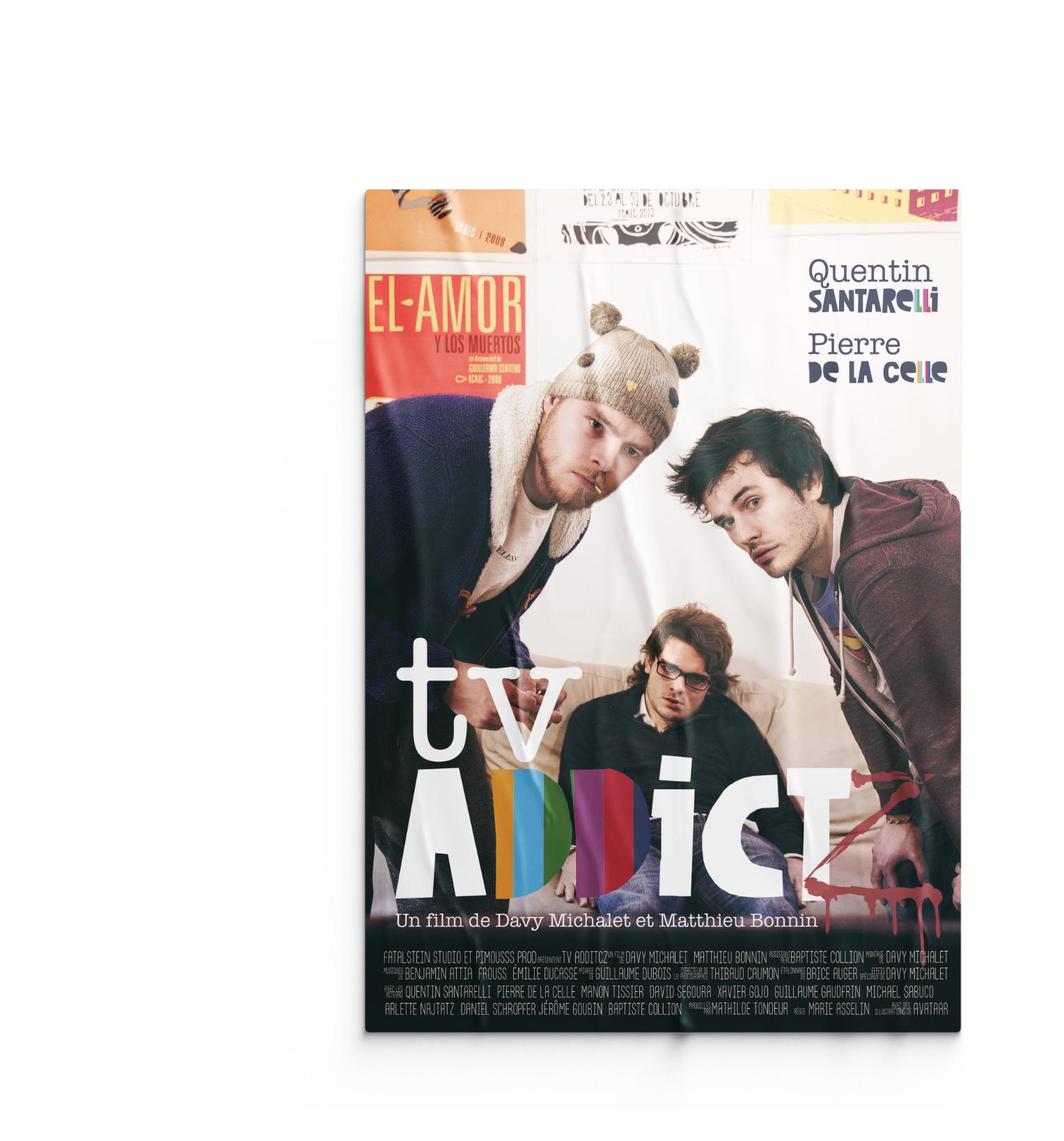 Affiche TV Addict